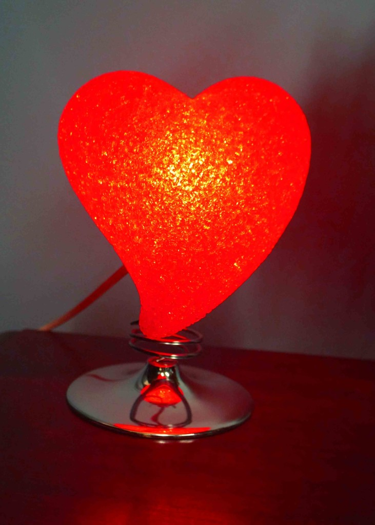 Heart Lamp Red