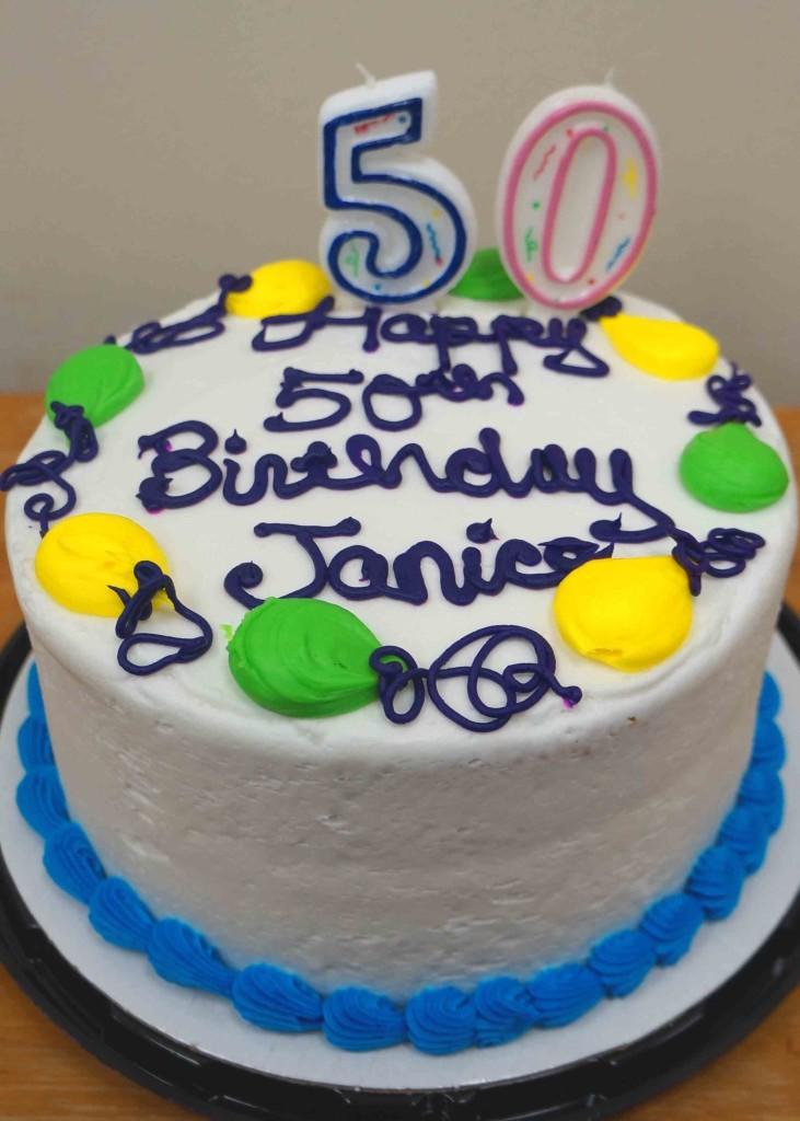Janice's B-Day Cake