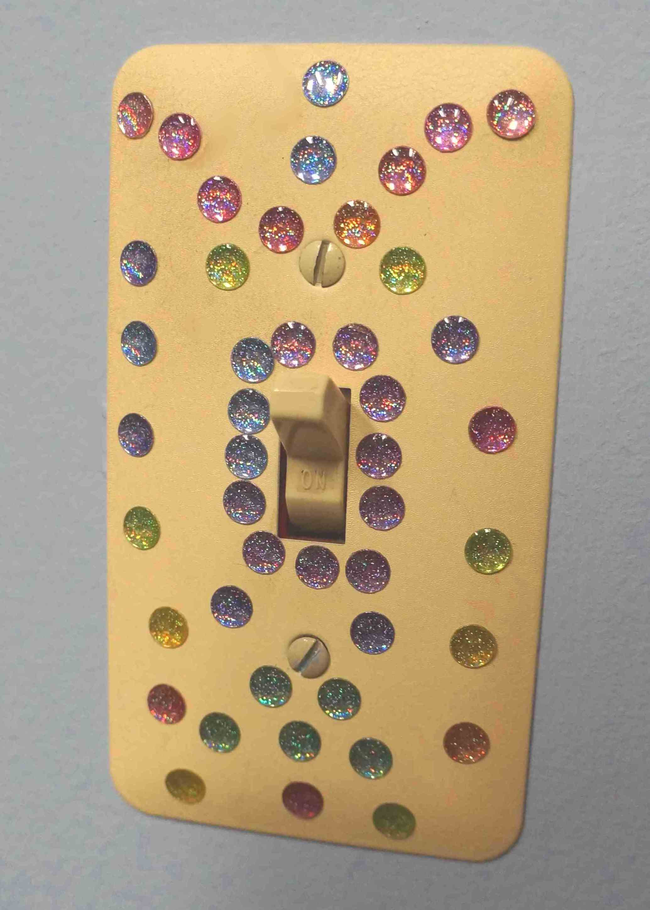 Light Switch Decor. Naveed Arts Acrylic D Wall Dcor For Home And ...